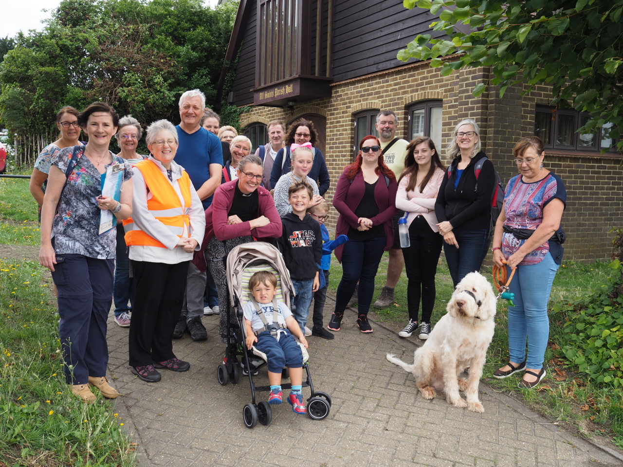 We Were Taking Our Easter Walk In Owen >> Monthly Parish Walk All Saints Frindsbury With Upnor And Chattenden